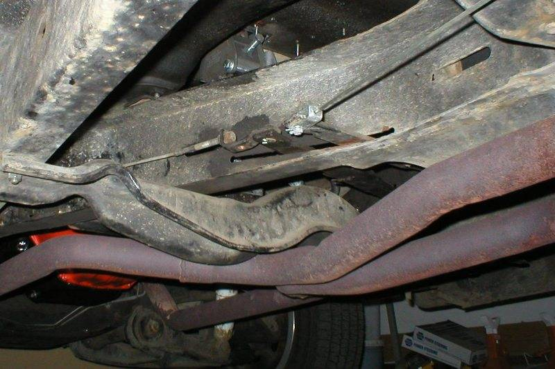 1961 1  2 Ton Parking Brake Cables Routing
