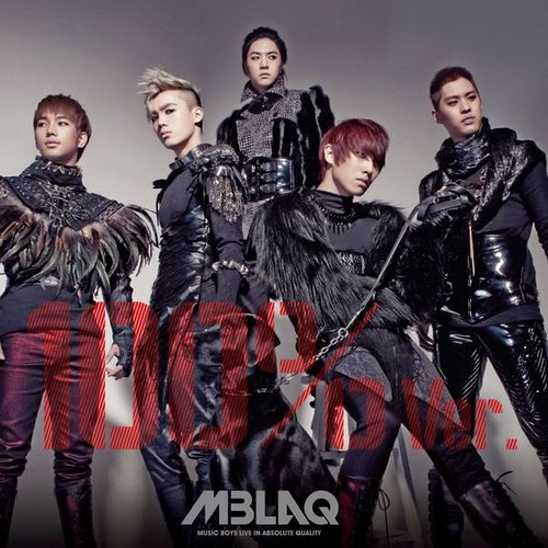 [Mini Album] MBLAQ   100% Ver. (4th Mini Album)