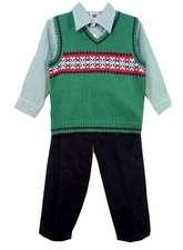 roupa infantil de natal