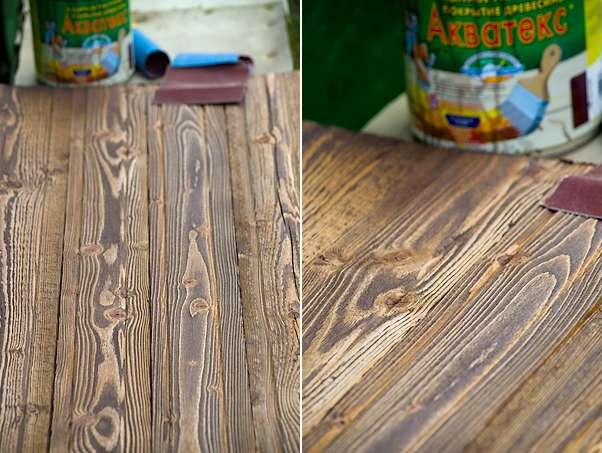 Как сделать морилку для древесины