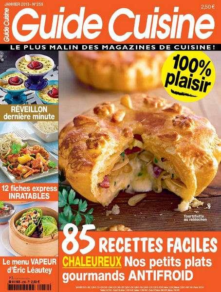 Guide Cuisine N°259 Janvier 2013